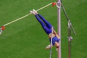 Katie Nageotte (USA) Women's Pole Vault during the IAAF Diamond League event at the King Baudouin Stadium, Brussels, Belgium on 6 September 2019.