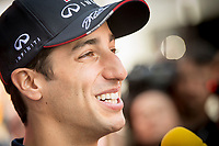 RICCIARDO Daniel (Aus) Red Bull Renault Rb10 ambiance portrait   during the 2014 Formula One World Championship, Grand Prix of Spain from may 8 to 11th 2014, in Barcelona, Spain. Photo Vincent Curutchet / DPPI