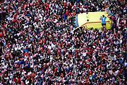 Croatia fans on the main square