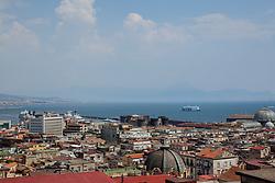 July 31, 2018 - Naples, Campania, Italy - Summer Session 2018 in Naples, Italy July 30,2018, panoramic street Vittorio Emanuele  (Credit Image: © Paolo Manzo/NurPhoto via ZUMA Press)