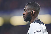 Derby County defender Fikayo Tomori (5) during the EFL Cup 4th round match between Chelsea and Derby County at Stamford Bridge, London, England on 31 October 2018.