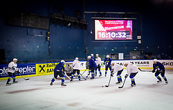 Players during practice session of Team Slovenia at the 2017 IIHF Men's World Championship, on May 11, 2017 in AccorHotels Arena in Paris, France. Photo by Vid Ponikvar / Sportida