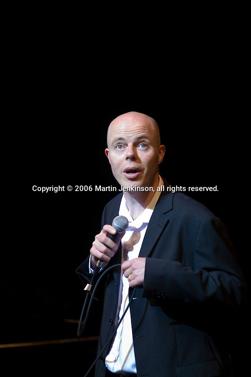 Roger Monkhouse performing at In praise of an English radical - A Celebration of Linda Smith, Lyceum Theatre Sheffield.