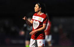 Carla Humphrey of Bristol City- Mandatory by-line: Nizaam Jones/JMP - 06/01/2019 - FOOTBALL - Stoke Gifford Stadium- Bristol, England - Bristol City Women v Manchester City Women - FA Women's Super League 1
