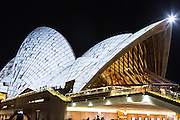 View of Sydney Opera House during Vivd Sydney 2016