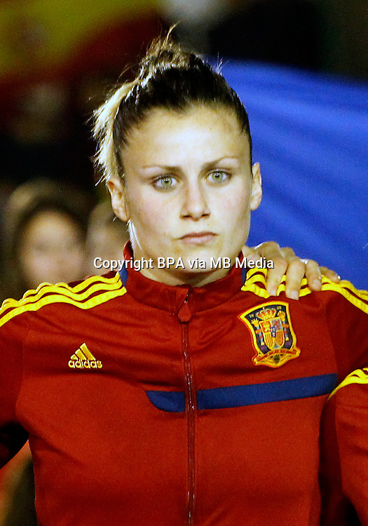 Fifa Womans World Cup Canada 2015 - Preview //  Friendly Match -<br /> Spain vs New Zealand 0-0  ( Municipal Stadium - La Roda , Spain ) <br /> Sandra Panos of  Spain