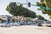 Temple City Blvd and Las Tunas Street Scene