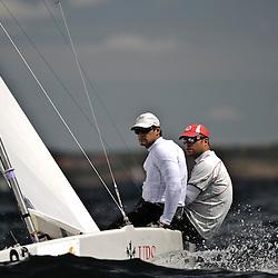 Star World Championship 2009 Varberg Sweden, helm Flavio Marazzi and crew Enrico de Maria 3rd place race 1
