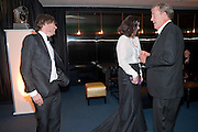 ALEX JAMES; CLAIRE NEATE; JEREMY CLARKSON, GQ Men of the Year awards. The royal Opera House. Covent Garden. London. 6 September 2011. <br /> <br />  , -DO NOT ARCHIVE-© Copyright Photograph by Dafydd Jones. 248 Clapham Rd. London SW9 0PZ. Tel 0207 820 0771. www.dafjones.com.