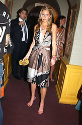 MARISSA MONTGOMERY at a private dinner and presentation of Issa's Autumn-Winter 2005-2006 collection held at Annabel's, 44 Berkeley Square, London on 15th March 2005.<br /><br />NON EXCLUSIVE - WORLD RIGHTS