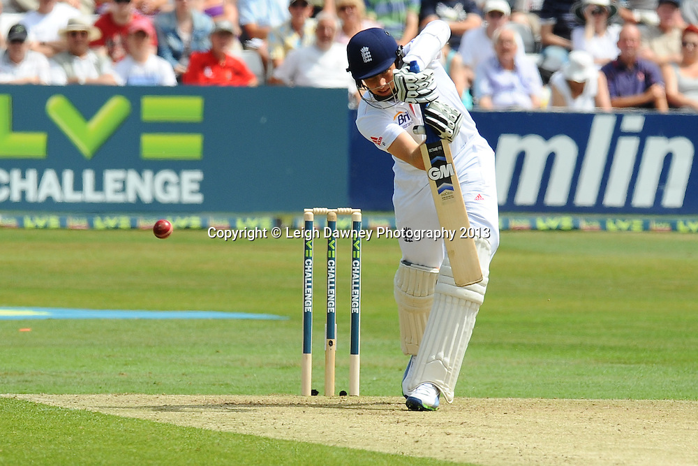 Joe Root of England batting during England v Essex first day of a four day Ashes warm up game at the Essex County Cricket Ground, 30.06.13.  Credit: © Leigh Dawney Photography. Self Billing where applicable. Tel: 07812 790920