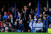 Bradford City manager Stuart McCall in the technical area during the EFL Sky Bet League 1 match between Portsmouth and Bradford City at Fratton Park, Portsmouth, England on 28 October 2017. Photo by Graham Hunt.