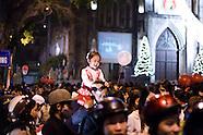 christmas eve hanoi 2009