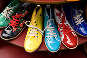 Colorful shoes for sale, Buenos Aires, Argentina