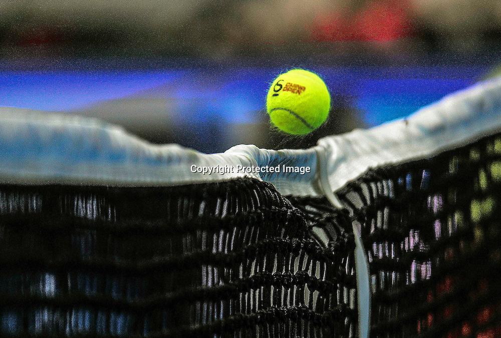 Oct 05, 2013; Beijing, CHINA; Jelena Jankovic of Serbia defeats Petra Kvitova of Czech 2:1 (6-7, 6-1, 6-1) during a women's semifinal match at the Tennis China Open.