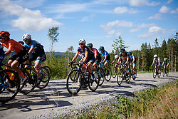 Katrine Aalerud (NOR) during Ladies Tour of Norway 2019 - Stage 4, a 154 km road race from Svinesund to Halden, Norway on August 25, 2019. Photo by Sean Robinson/velofocus.com