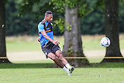 Forest Green Rovers Ethan Pinnock during the Forest Green Rovers Training at the Cirencester Agricultural College, Cirencester, United Kingdom on 12 July 2016. Photo by Shane Healey.