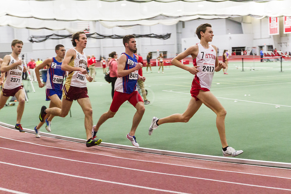 Boston University Multi-team indoor track & field, men 3000 meters, BU
