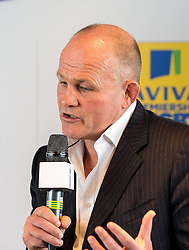 Bristol Rugby's Director of Rugby, Andy Robinson speaks at the Aviva Premiership fixture launch - Mandatory by-line: Robbie Stephenson/JMP - 07/07/2016 - RUGBY - BT Tower - London, United Kingdom  - Aviva Premiership Fixture Launch