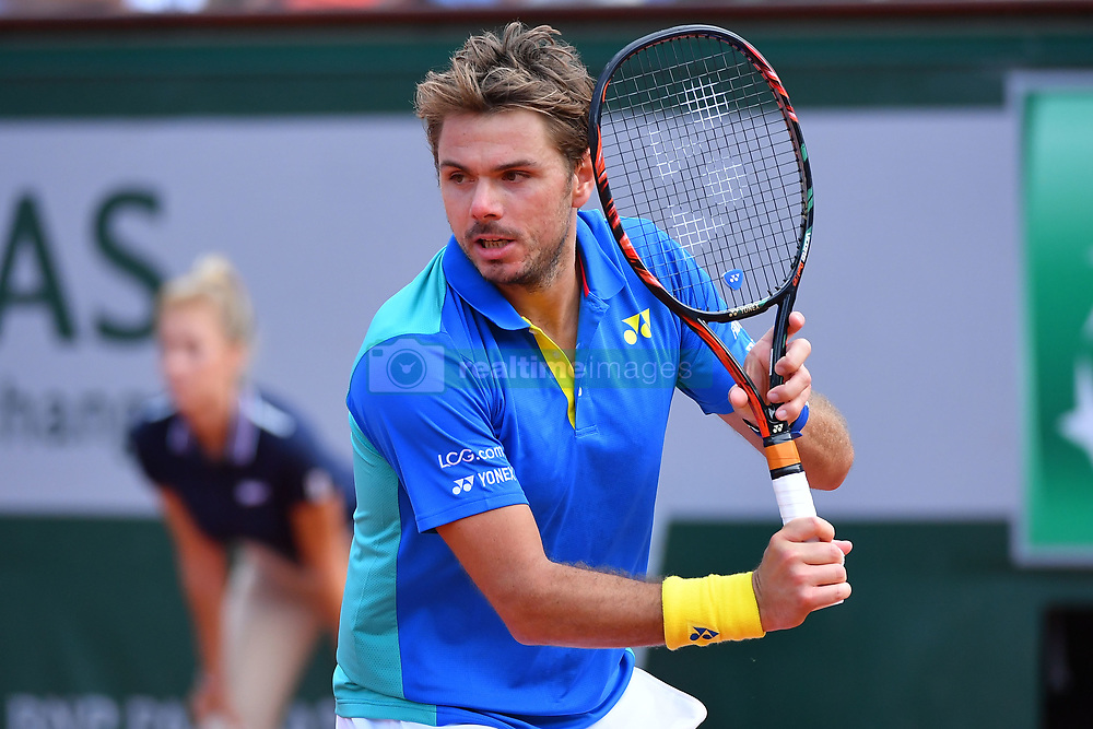 June 5, 2017 - Paris, FRANCE - Stan Wawrinka  (Credit Image: © Panoramic via ZUMA Press)
