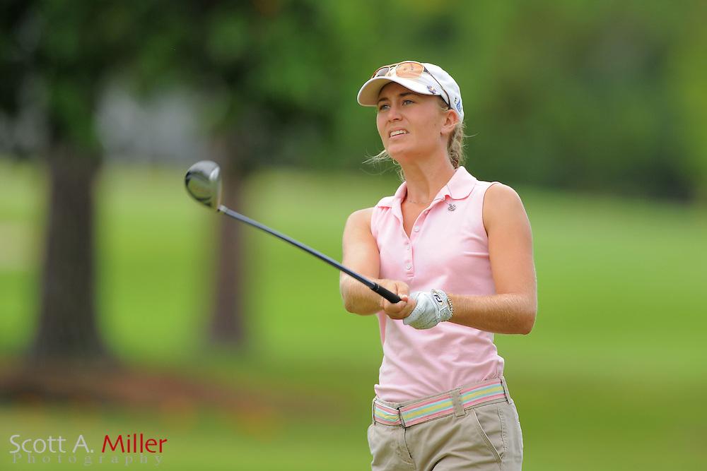 Megan McChrystal during the Symetra Tour's Sara Bay Classic at the Sara Bay Country Club on April 22, 2012 in Sarasota, Fla. ..©2012 Scott A. Miller.