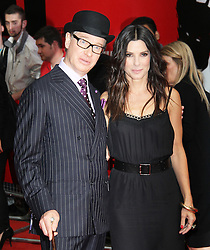 © Licensed to London News Pictures. 13/06/2013. Paul Feig; Sandra Bullock at The Heat gala screening, Curzon Mayfair cinema, London UK, 13 June 2013. Photo credit : Richard Goldschmidt/Piqtured/LNP