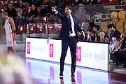 Michele Carrea<br /> Unicusano Roma - Angelico Biella<br /> Campionato Basket LNP 2016/2017<br /> Roma 29/01/2017<br /> Foto Ciamillo-Castoria
