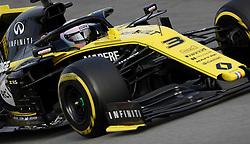Renault's Daniel Ricciardo during day two of pre-season testing at the Circuit de Barcelona-Catalunya.