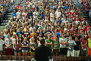 Orientation at Gonzaga University<br /> <br /> photo by Rajah Bose