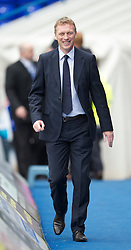 BIRMINGHAM, ENGLAND - Saturday, October 2, 2010: Everton manager David Moyes before the Premiership match against Birmingham City at St Andrews. (Photo by David Rawcliffe/Propaganda)