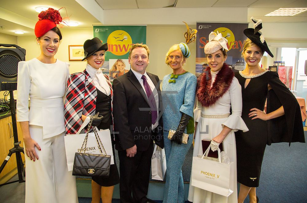 28.12.2016              <br /> The style stakes were high at Limerick Racecourse as ladies gathered for the Sunway Holidays Best Dressed Lady on Wednesday last. Breda Butler from Thurles in Co. Tipperary walked away with the top prize of a holiday for two people to Lanzarote. <br /> <br /> Pictured at the event were, judge Jean Sheahan, Mamie Hayes, Castletroy Limerick 3rd place, Martin Hayes, Sunway Holidays, winner Breda Butler, Thurles Co. Tipperary, Grace Ryan Bedford Row Limerick City, 2nd Place and Sharon Kennedy, judge. Picture: Alan Place