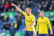 FODBOLD: Josip Radosevic (Brøndby IF) under kampen i Superligaen mellem Brøndby IF og FC Nordsjælland den 13. maj 2019 på Brøndby Stadion. Foto: Claus Birch.