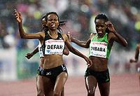 Friidrett , 9. juni 2011 , Diamond League , Bislett Games<br /> <br /> Meseret Defar , ETH<br /> Genzebe Dibaba , ETH<br /> 5000 m