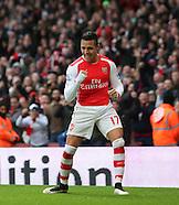 Arsenal v Stoke City 110115