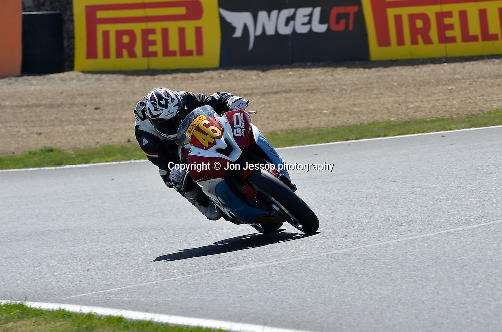#46 Mike Jones Honda CBR600RR Agro-On Racedays Honda