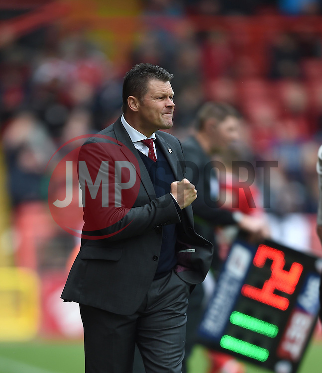 Bristol City manager Steve Cotterill - Photo mandatory by-line: Paul Knight/JMP - Mobile: 07966 386802 - 03/05/2015 - SPORT - Football - Bristol - Ashton Gate Stadium - Bristol City v Walsall - Sky Bet League One