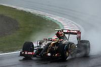 Pastor Maldonado (VEN) Lotus F1 E21.<br /> Japanese Grand Prix, Sunday 5th October 2014. Suzuka, Japan.