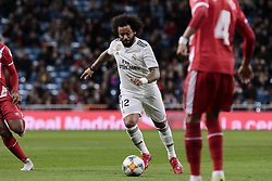 January 24, 2019 - Madrid, Spain - Real Madrid's Marcelo Vieira during Copa del Rey match between Real Madrid and Girona FC at Santiago Bernabeu Stadium. (Credit Image: © Legan P. Mace/SOPA Images via ZUMA Wire)