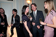 MAT COLLISHAW; TIM NOBLE; MARY MCCARTNEY; TIM JEFFERIES; MALIN JEFFERIES; , Dinner to mark 50 years with Vogue for David Bailey, hosted by Alexandra Shulman. Claridge's. London. 11 May 2010 *** Local Caption *** -DO NOT ARCHIVE-&copy; Copyright Photograph by Dafydd Jones. 248 Clapham Rd. London SW9 0PZ. Tel 0207 820 0771. www.dafjones.com.<br /> MAT COLLISHAW; TIM NOBLE; MARY MCCARTNEY; TIM JEFFERIES; MALIN JEFFERIES; , Dinner to mark 50 years with Vogue for David Bailey, hosted by Alexandra Shulman. Claridge's. London. 11 May 2010
