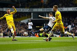 Ben Davies of Tottenham Hotspur shoots - Mandatory by-line: Jason Brown/JMP - 12/03/2017 - FOOTBALL - White Hart Lane - London, England - Tottenham Hotspur v Millwall - Emirates FA Cup Quarter Final