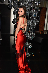 Samantha Barks at the official launch of The Perception at W London, 10 Wardour Street, London England. 7 November 2017.<br /> Photo by Dominic O'Neill/SilverHub 0203 174 1069 sales@silverhubmedia.com
