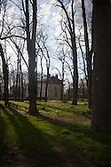 the chateau de Beauvoir in chaumes en brie dpt 77 France   /  chateau de beauvoir a Chaumes en brie