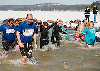 Annual Winni Dip for Special Olympics at the Margate Resort Sunday, March 10, 2013.  Karen Bobotas/for the Laconia Daily Sun