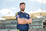 Portrait of James Vince during the Hampshire CCC photo call 2017 at  at the Ageas Bowl, Southampton, United Kingdom on 12 April 2017. Photo by David Vokes.