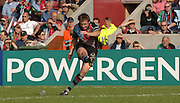 2005_06 National Division One, NEC Harlequins vs Newbury, Andrew mahrtens, convert a second half, Quins, try.Twickenham Stoop: 17.09.2005   © Peter Spurrier/Intersport Images - email images@intersport-images..