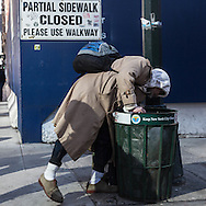 New York urban life in Manhattan