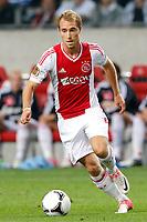 AMSTERDAM - 25-08-2012 - voetbal Eredivisie - Ajax - NAC, stadion Amsterdam Arena, Ajax speler Christian Eriksen.