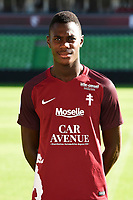 Moussa Niakhate of Metz during photoshooting of Fc Metz for season 2017/2018 on August 2nd 2017 in Metz<br /> Photo : Fred Marvaux / Icon Sport