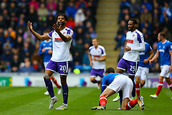 Michael Ihiekwe of Rotherham United appeals to the ref - Mandatory by-line: Jason Brown/JMP - 03/09/2017 - FOOTBALL - Fratton Park - Portsmouth, England - Portsmouth v Rotherham United - Sky Bet League Two