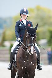 Wells Sophie, (GBR), C Fatal Attraction<br /> Grade IV Team Test<br /> Para-Dressage FEI European Championships Deauville 2015<br /> © Hippo Foto - Jon Stroud<br /> 18/09/15